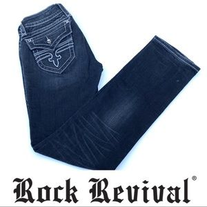 Rock Revival • Jen Straight Jeans